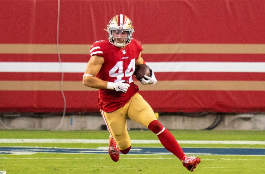 San Francisco 49ers fullback Kyle Juszczyk (44) Mandatory Credit: Kyle Terada-USA TODAY Sports