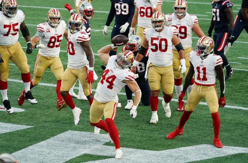 SF 49ers fullback Kyle Juszczyk (44) Mandatory Credit: David Butler II-USA TODAY Sports