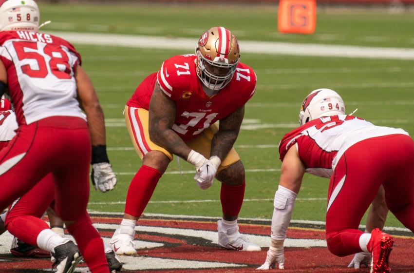 San Francisco 49ers offensive tackle Trent Williams (71) Mandatory Credit: Kyle Terada-USA TODAY Sports