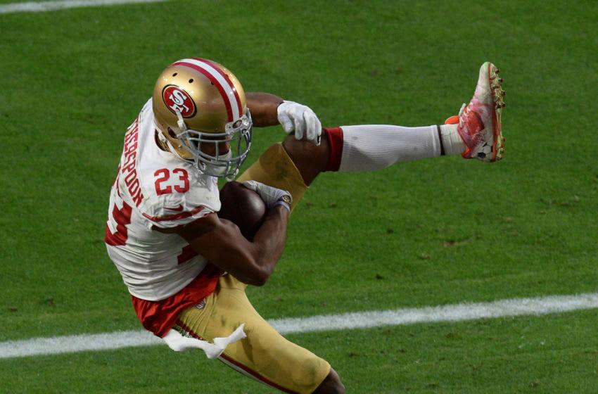 San Francisco 49ers cornerback Ahkello Witherspoon (23) Mandatory Credit: Joe Camporeale-USA TODAY Sports