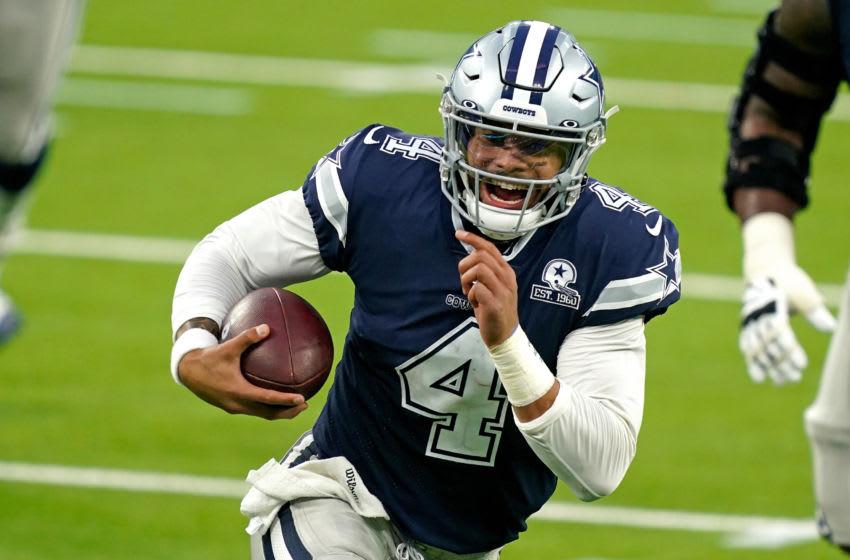 Dallas Cowboys quarterback Dak Prescott (4) Mandatory Credit: Kirby Lee-USA TODAY Sports