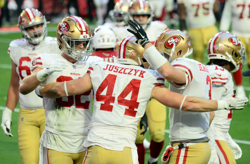San Francisco 49ers fullback Kyle Juszczyk (44) Mandatory Credit: Joe Camporeale-USA TODAY Sports