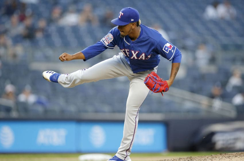 Former Texas Rangers reliever Emmanuel Clase suspended (Photo by Jim McIsaac/Getty Images)