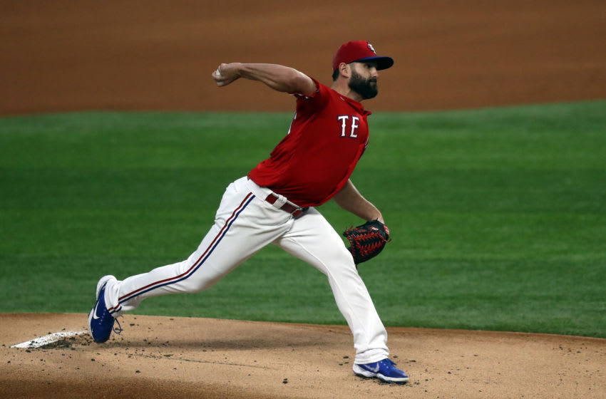 Texas Rangers reliever Nick Goody designated for assignment (Photo by Ronald Martinez/Getty Images)