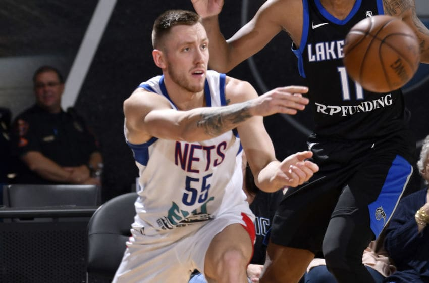 Long Island Nets Mitch Creek. Mandatory Copyright Notice: Copyright 2019 NBAE (Photo by Fernando Medina/NBAE via Getty Images)