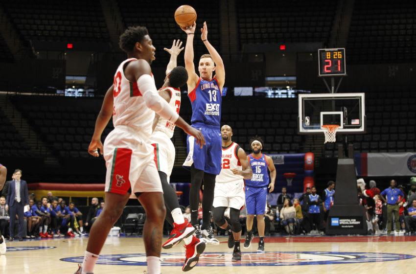 Brooklyn Nets Long Island Nets Dzanan Musa. Mandatory Copyright Notice: Copyright 2018 NBAE (Photo by David Saffran/NBAE via Getty Images)