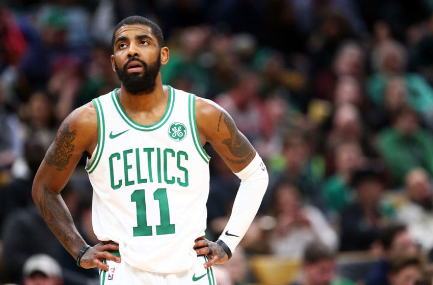 Brooklyn Nets Kyrie Irving (Photo by Adam Glanzman/Getty Images)