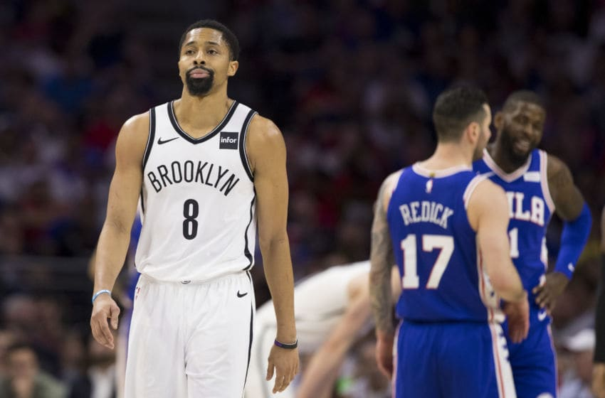 Brooklyn Nets Spencer Dinwiddie (Photo by Mitchell Leff/Getty Images)