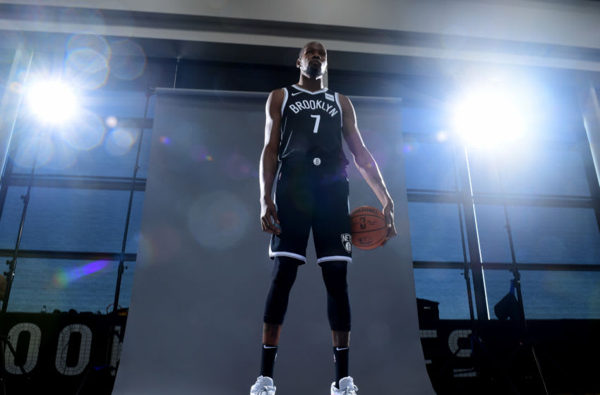 Kevin Durant of the Brooklyn Nets (Photo by Emilee Chinn/Getty Images)