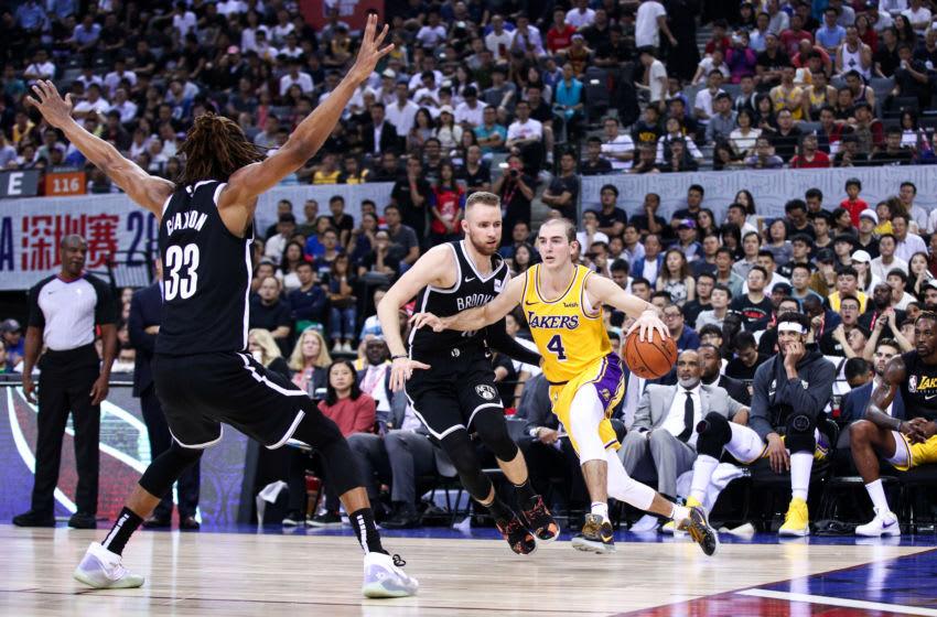 Nicolas Claxton Brooklyn Nets (Photo by Zhong Zhi/Getty Images)