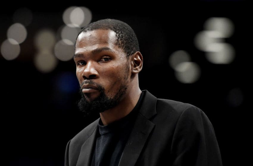 Kevin Durant of the Brooklyn Nets (Photo by Sarah Stier/Getty Images)