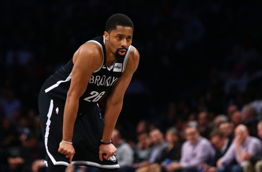 Spencer Dinwiddie Brooklyn Nets (Photo by Mike Stobe/Getty Images)