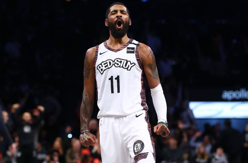 Kyrie Irving Brooklyn Nets (Photo by Mike Stobe/Getty Images)