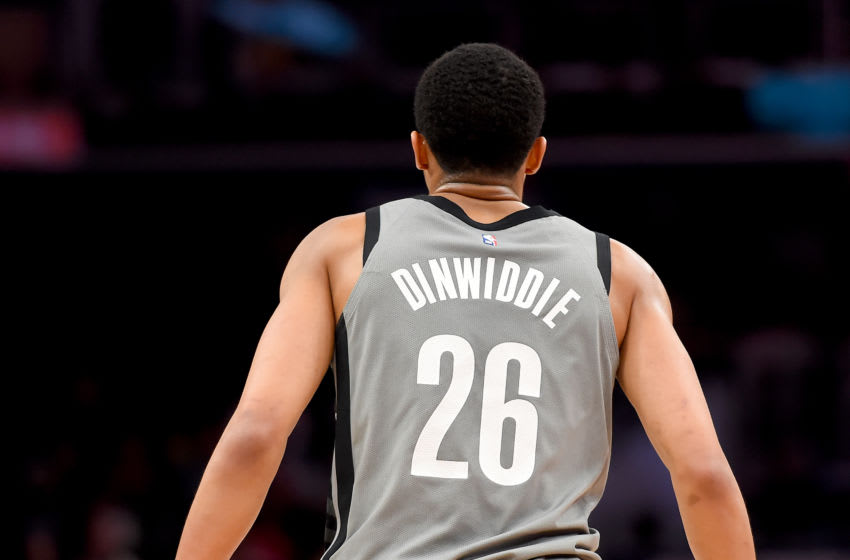 Spencer Dinwiddie Brooklyn Nets (Photo by Will Newton/Getty Images)