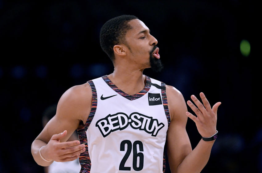 Spencer Dinwiddie of the Brooklyn Nets (Photo by Harry How/Getty Images)