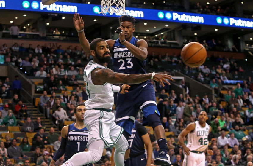Brooklyn Nets Kyrie Irving (Photo by Barry Chin/The Boston Globe via Getty Images)