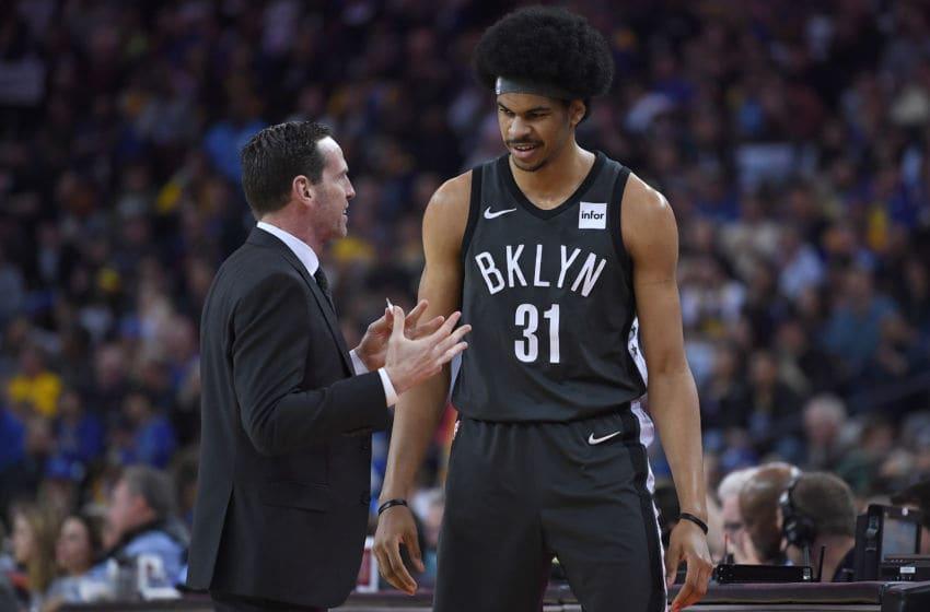 Jarrett Allen Brooklyn Nets (Photo by Thearon W. Henderson/Getty Images)