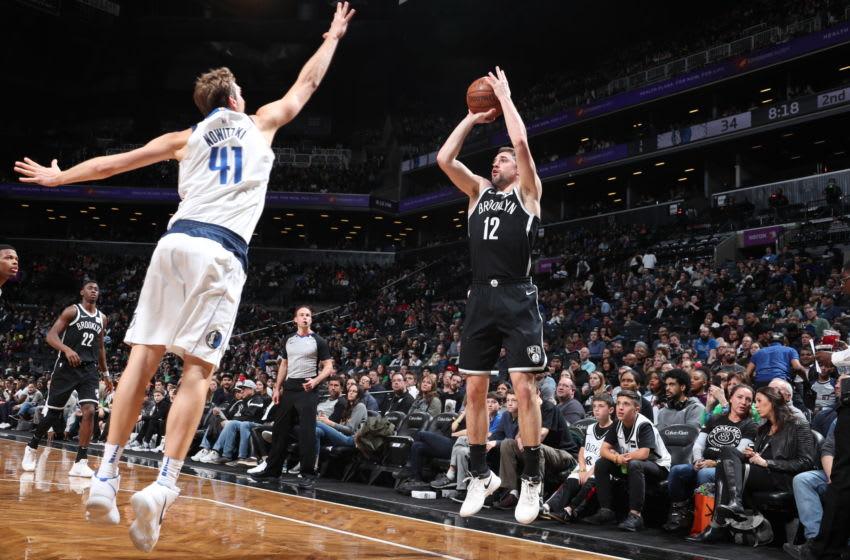 Brooklyn Nets Joe Harris. Mandatory Copyright Notice: Copyright 2018 NBAE (Photo by Nathaniel S. Butler/NBAE via Getty Images)