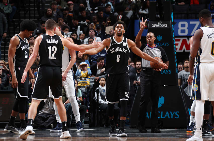 Spencer Dinwiddie Brooklyn Nets (Photo by Nathaniel S. Butler/NBAE via Getty Images)