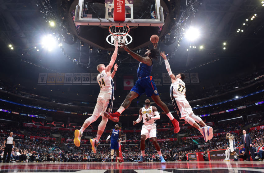 Brooklyn Nets DeAndre Jordan. Mandatory Copyright Notice: Copyright 2018 NBAE (Photo by Andrew D. Bernstein/NBAE via Getty Images)