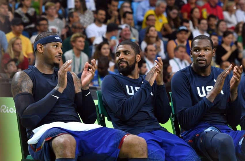 Carmelo Anthony Team USA (Photo credit should read ANDREJ ISAKOVIC/AFP/Getty Images)