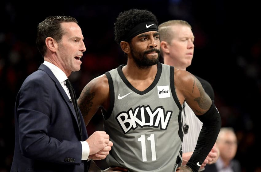 Brooklyn Nets star Kyrie Irving (Photo by Steven Ryan/Getty Images)