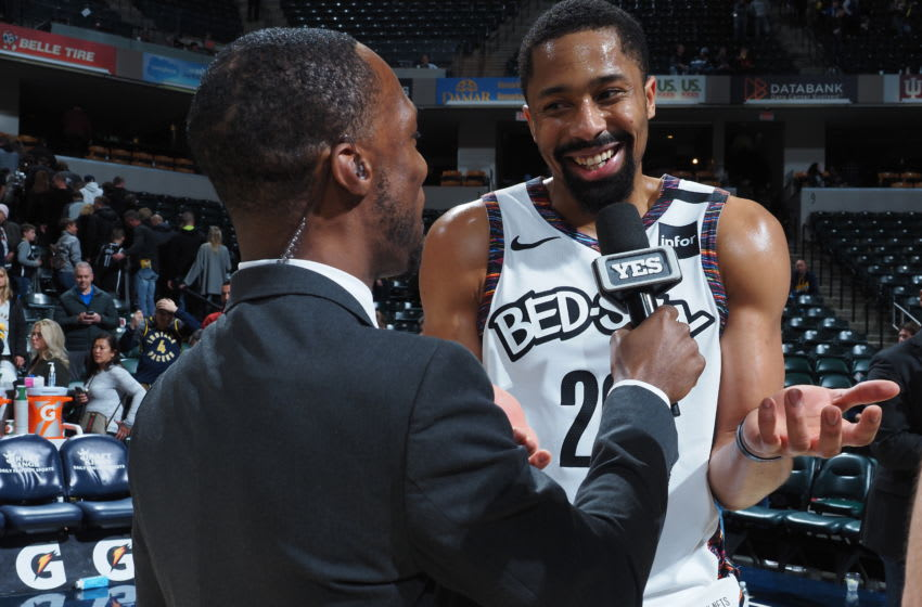 Spencer Dinwiddie of the Brooklyn Nets (Photo by Ron Hoskins/NBAE via Getty Images)