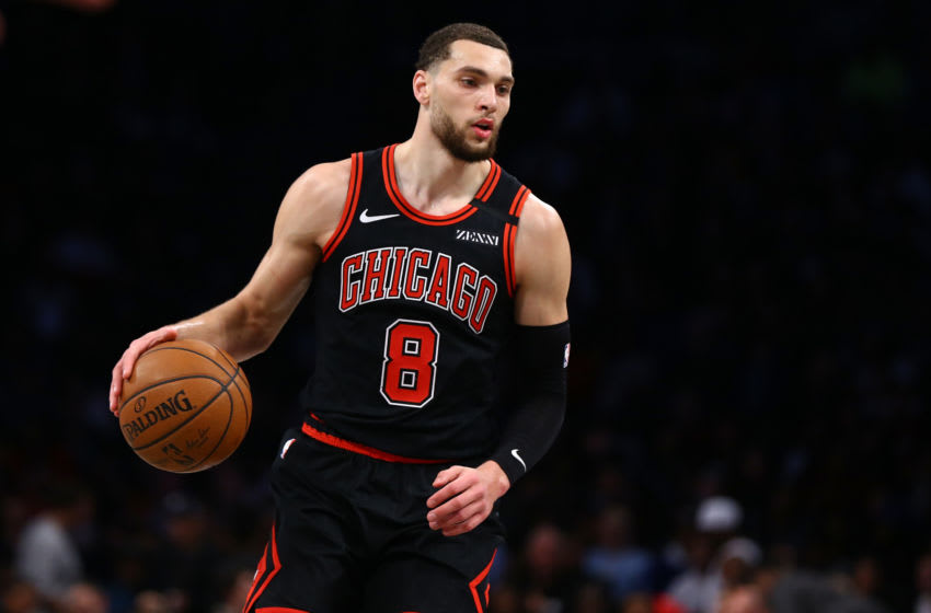 Bulls guard Zach LaVine (Photo by Mike Stobe/Getty Images)