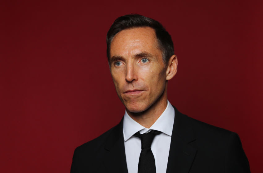 Steve Nash poses for a portrait at the Naismith Memorial Basketball Hall of Fame on September 7, 2018 in Springfield, Massachusetts. (Photo by Maddie Meyer/Getty Images)