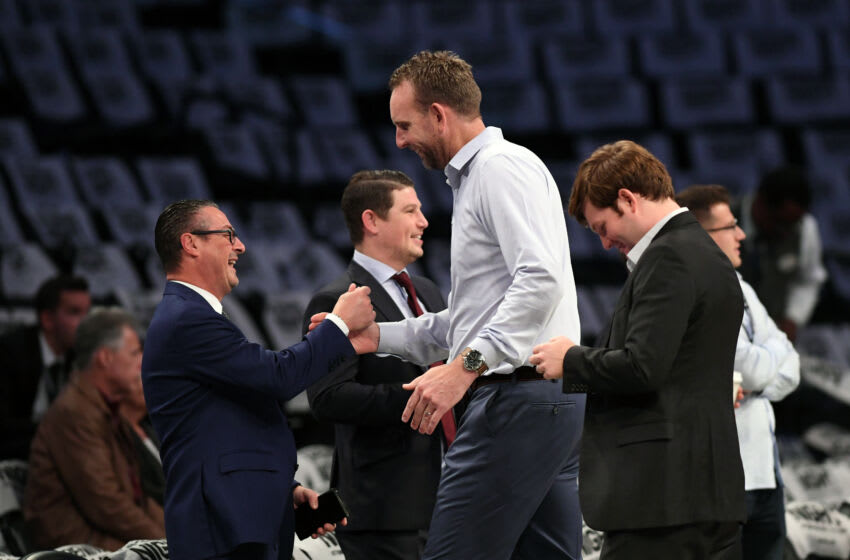 NEW YORK, NY - OCTOBER 23: Sean Marks of the Brooklyn Nets (Photo by Matteo Marchi/Getty Images)