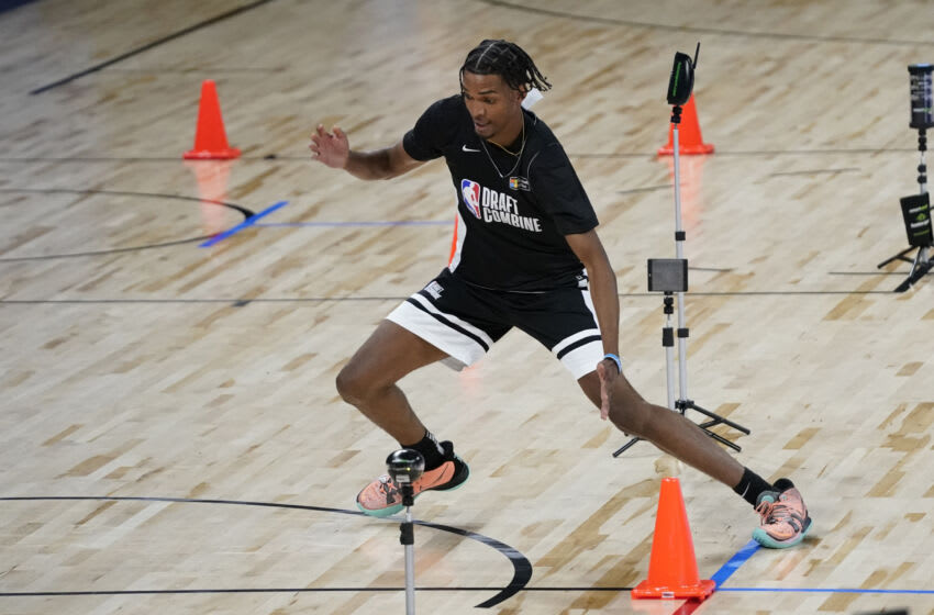 Denver Nuggets 2021 NBA Draft guide: Ziaire Williams, Standford participates during the NBA Draft Combine on 23 Jun. 2021. (David Banks-USA TODAY Sports)