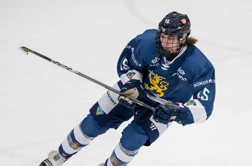 PLYMOUTH, MI - FEBRUARY 14: Niklas Nordgren