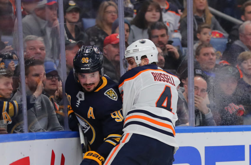 Edmonton Oilers, Kris Russell #4 (Photo by Timothy T Ludwig/Getty Images)