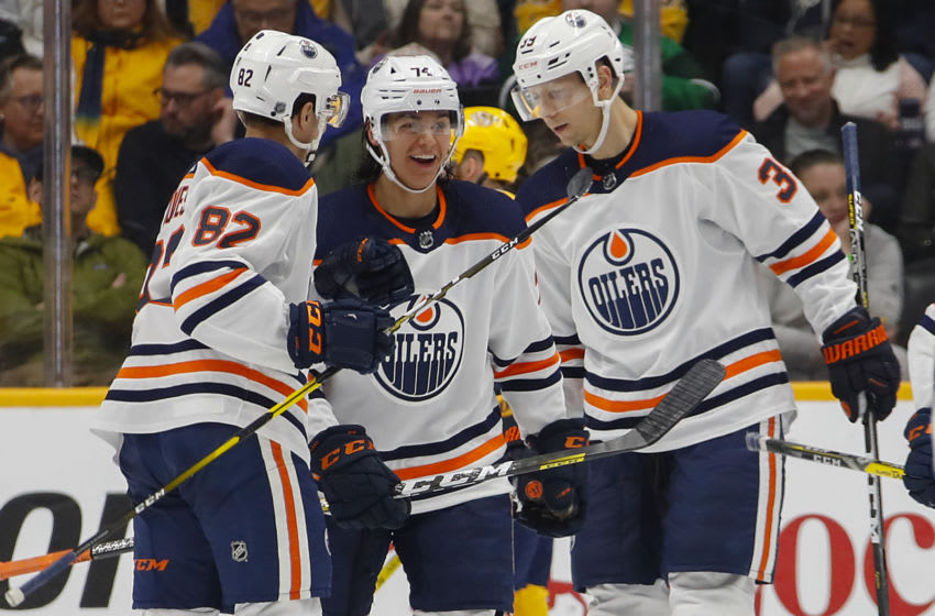 Edmonton Oilers (Photo by Frederick Breedon/Getty Images)