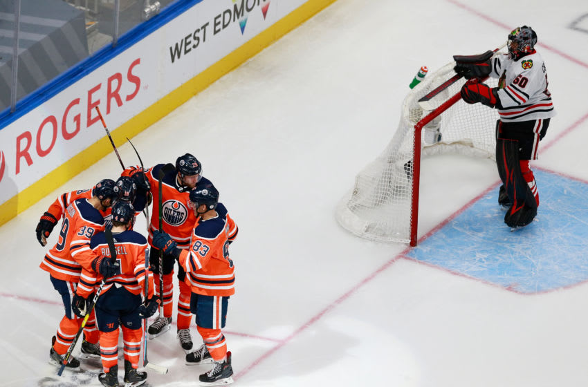 Edmonton Oilers (Photo by Jeff Vinnick/Getty Images)
