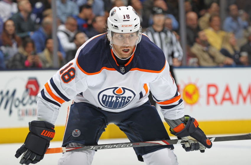 Edmonton Oilers, James Neal #18 (Photo by Claus Andersen/Getty Images)