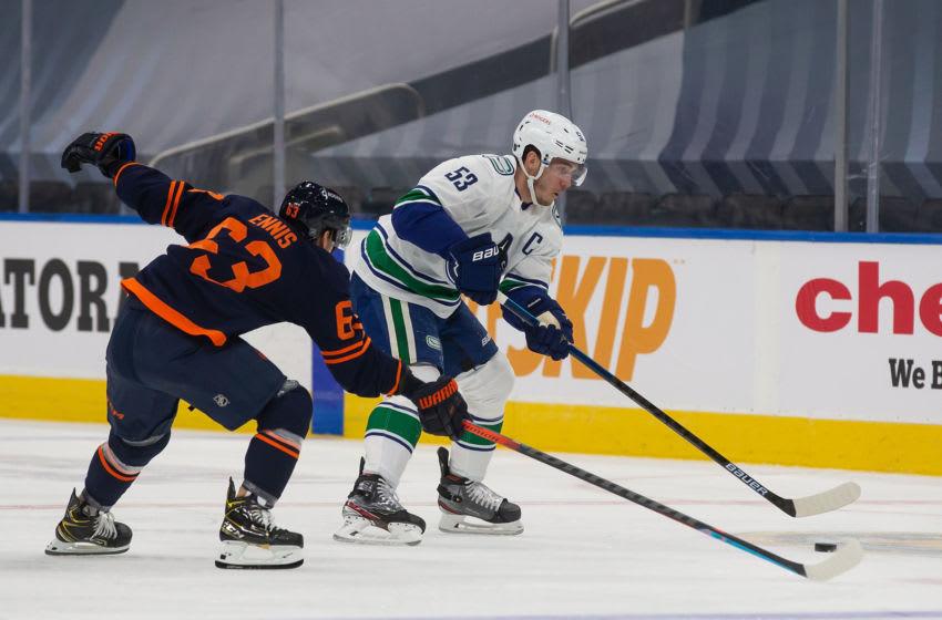 Edmonton Oilers, Tyler Ennis #63 (Photo by Codie McLachlan/Getty Images)