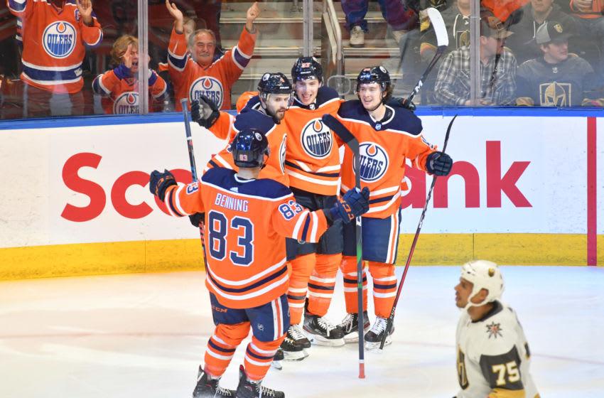 Edmonton Oilers. Mandatory Credit: Walter Tychnowicz-USA TODAY Sports