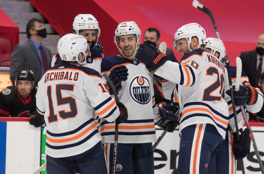 Edmonton Oilers (Mandatory Credit: Marc DesRosiers-USA TODAY Sports)