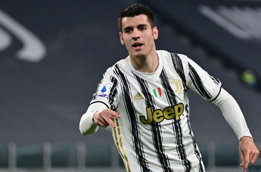 Juventus, Alvaro Morata (Photo by MIGUEL MEDINA/AFP via Getty Images)