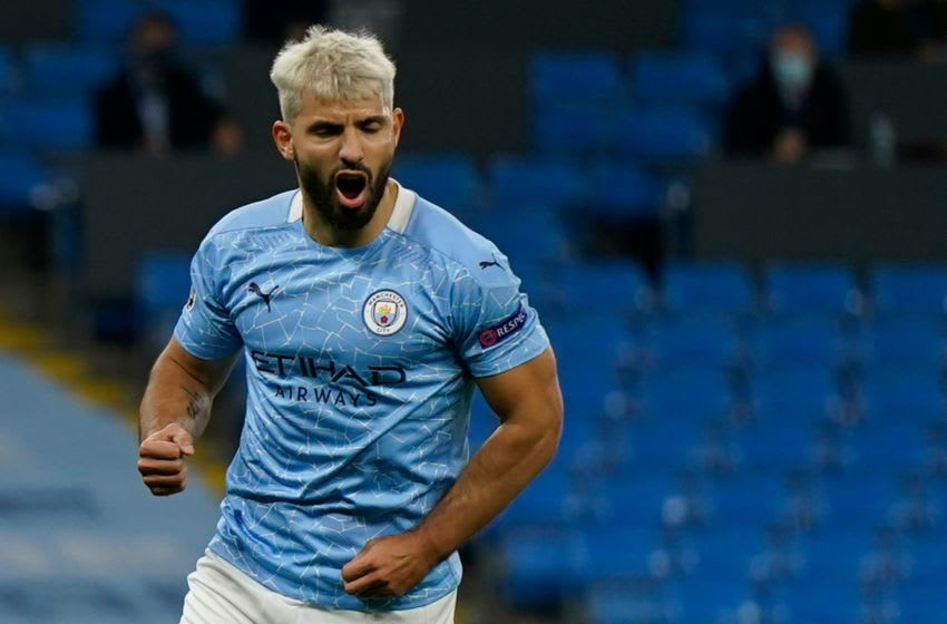 Manchester City, Sergio Aguero (Photo by TIM KEETON/POOL/AFP via Getty Images)