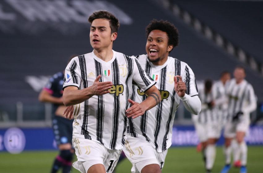 Juventus, Paulo Dybala, Weston McKennie (Photo by Jonathan Moscrop/Getty Images)