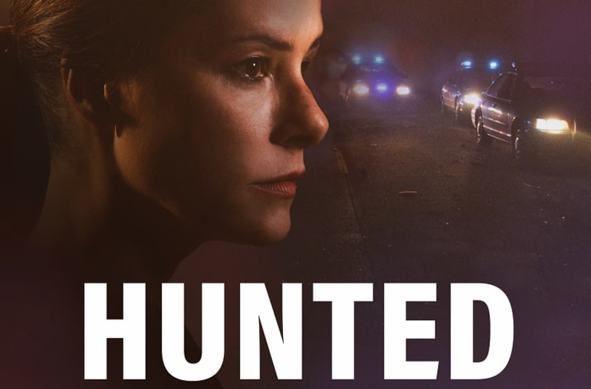 Key art for Hunted, the new audio drama from Wolf Entertainment and Endeavour Audio. Photo Credit: Courtesy of The Lippin Group.