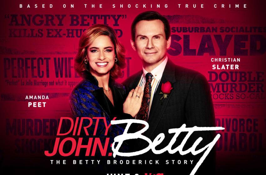 Dirty John: The Betty Broderick Story key art. (USA Network)