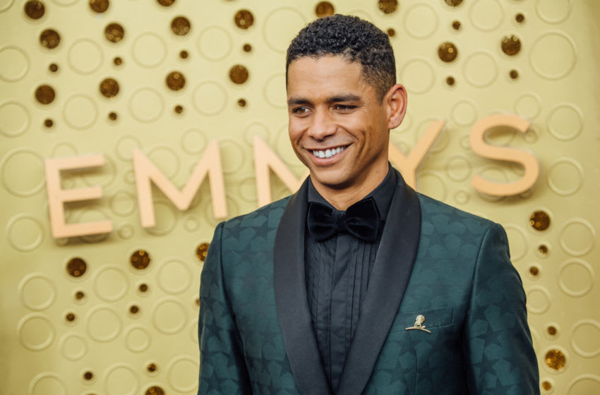 LOS ANGELES, CALIFORNIA - SEPTEMBER 22: (EDITORS NOTE: Image has been edited using digital filters) Charlie Barnett arrives at the 71st Emmy Awards at Microsoft Theater on September 22, 2019 in Los Angeles, California. (Photo by Emma McIntyre/Getty Images)