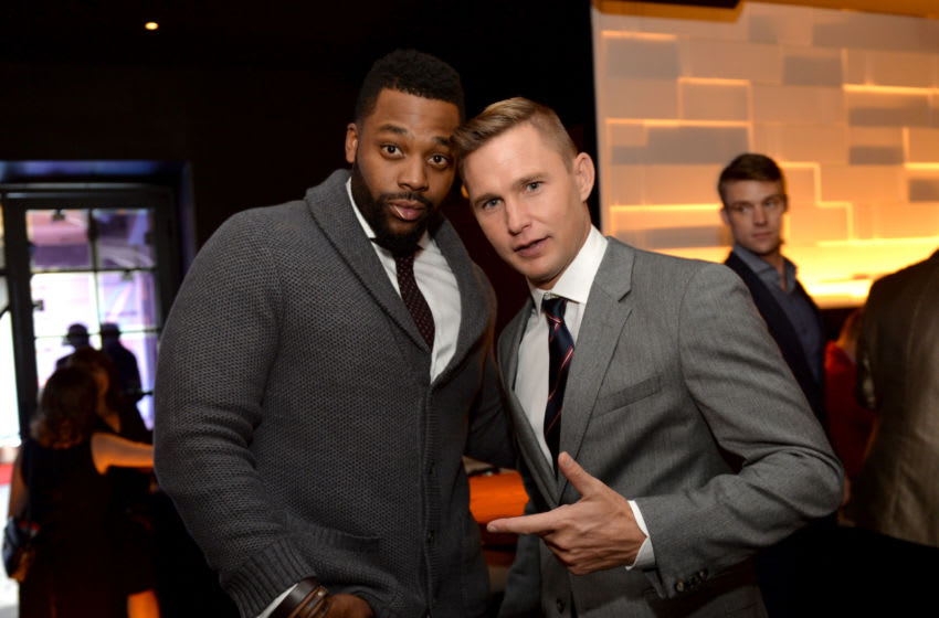 CHICAGO, IL - NOVEMBER 09: Actors Laroyce Hawkins and Brian Geraghty attend a premiere party for NBC's 'Chicago Fire', 'Chicago P.D.' and 'Chicago Med' at STK Chicago on November 9, 2015 in Chicago, Illinois. NBC has renewed popular dramas