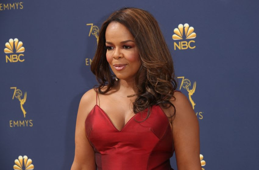 LOS ANGELES, CA - SEPTEMBER 17: Paula Newsome attends the 70th Emmy Awards at Microsoft Theater on September 17, 2018 in Los Angeles, California. (Photo by Dan MacMedan/Getty Images)