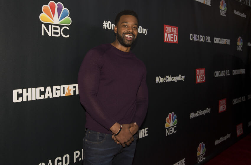 CHICAGO, IL - OCTOBER 07: Chicago P.D.'s LaRoyce Hawkins during NBC's 5th Annual Chicago Press Day at Lagunitas Brewing Company on October 7, 2019 in Chicago, Illinois. (Photo by Barry Brecheisen/Getty Images)