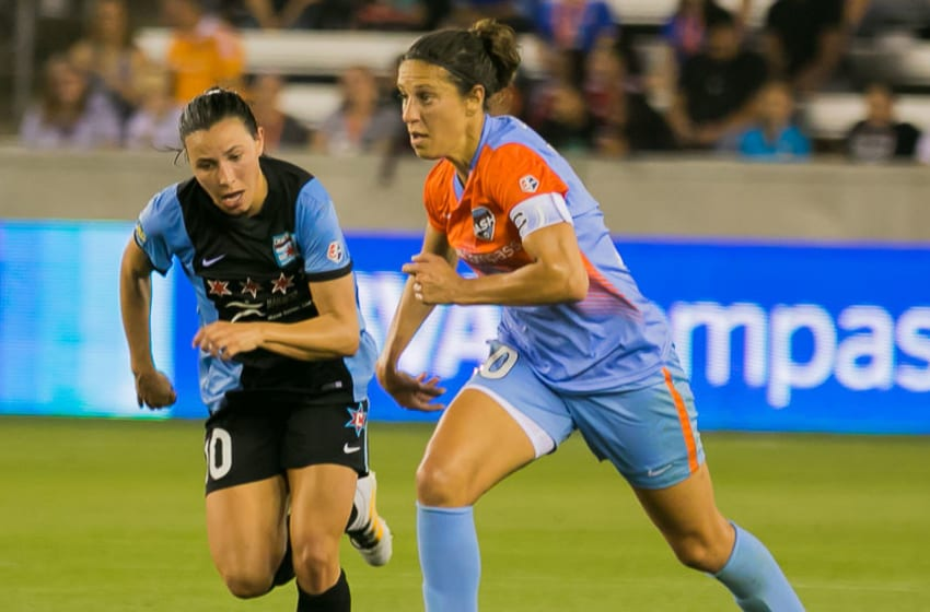 Houston Dash vs Chicago Red Stars at BBVA Compass Stadium in Houston Texas Sunday April 16, 2016 ( Jeremy Fletcher of Bigshots Snapshots Media Group)