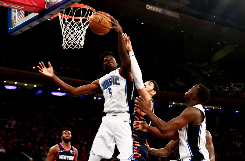 Orlando Magic center Mohamed Bamba has had to continue to add muscle and strength as part of his development. (Photo by Sarah Stier/Getty Images)